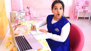 روتين شفا أول يوم مدرسة !