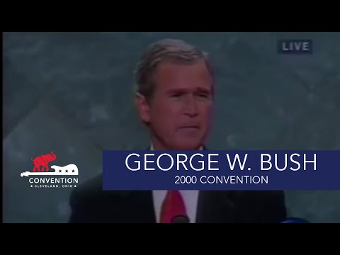 Acceptance Speech | President George W. Bush | 2000 Republican National Convention