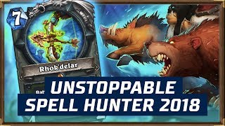 Unstoppable Spell Hunter 2018 | The Witchwood | Hearthstone
