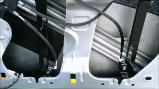 Seat Altea (XL) frontdoor vindow regulator replacement
