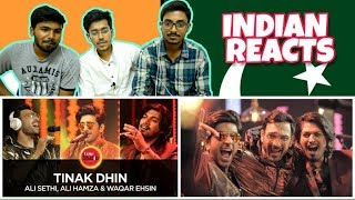 Indian Reacts To :-Tinak Dhin, by Ali Sethi, Ali Hamza & Waqar Ehsin | Coke Studio Season 10,