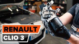 Regardez le vidéo manuel sur la façon de remplacer RENAULT CLIO III (BR0/1, CR0/1) Durite de frein