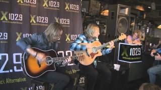 "X102.9 Acoustic Xperience - Switchfoot ""Meant To Live"""