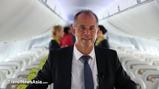 airBaltic Interview with CEO, Martin Gauss at Farnborough Airshow 2018 (FIA18)