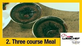 #fame food - Chocolate Fondant with Strawberry Lava | Dessert by Samina Patel