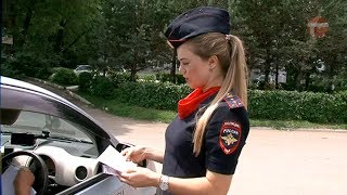 Сотрудники ГИБДД Уссурийска провели рейд среди водителей такси