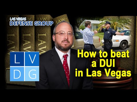 Can I beat a Las Vegas NV DUI charge?