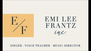 Private Voice Lessons with Miss Emi // Promo Video