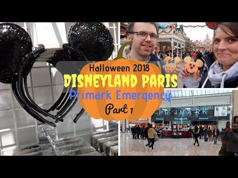 disneyland-paris-halloween-vlogs-part-1-|-travel-day-&-primark-emergency-|-krispysmore-2018