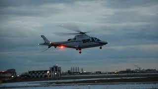 Воздушное руление над рд Дельта. AW109SP AgustaWestland - AW109 RA-07726