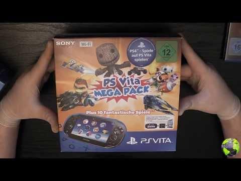 Unboxing Ps Vita / Sony PlayStation Vita Wi-Fi Mega Pack 1 | FULL HD | Deutsch