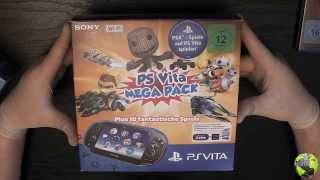 Unboxing Ps Vita / S๐ny PlayStation Vita Wi-Fi Mega Pack 1 | FULL HD | Deutsch