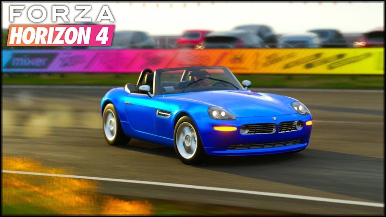 V12 pus pe un BMW Z8 - Forza Horizon 4