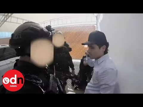 After a Crazy Gun Fight El Chapo's Son was Arrested and Then Released