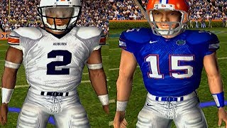 CAM NEWTON OR TIM TEBOW - NCAA FOOTBALL 06 GAMEPLAY