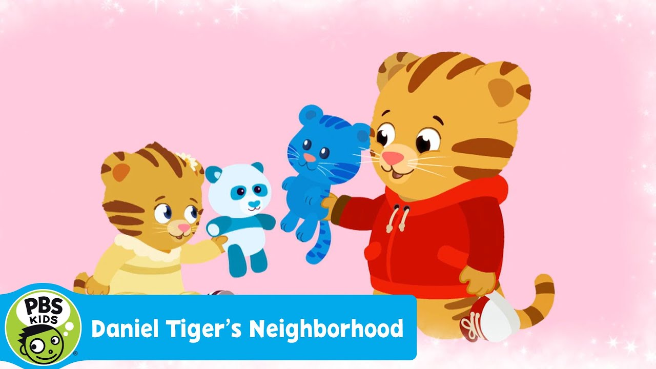 DANIEL TIGER'S NEIGHBORHOOD | 'Sharing with Margaret Can Be Fun' Song  | PBS KIDS