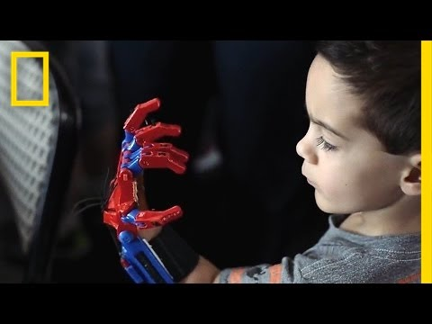 How 3-D-Printed Prosthetic Hands Are Changing These Kids' Lives | Short F