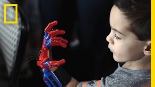How 3-D-Printed Prosthetic Hands Are Changing These Kids' Lives