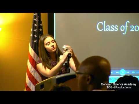 Sonoran Science Academy DM Graduation, May 2016