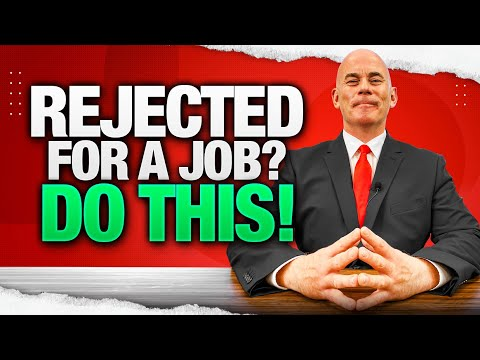REJECTED FOR A JOB? [WATCH THIS!!] (Here's What You MUST DO NEXT if you FAIL YOUR JOB INTERVIEW!)