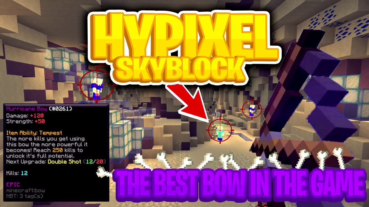 Hypixel Skyblock | How To Get The Best Bow In The Game