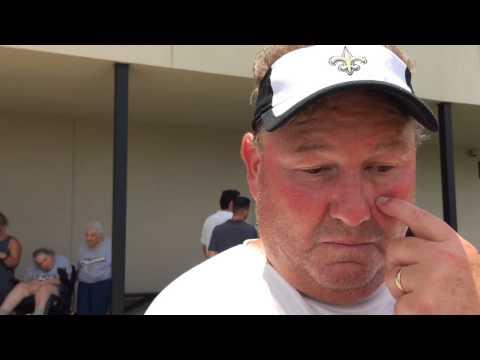 Saints defensive line coach Bill Johnson talks minicamp