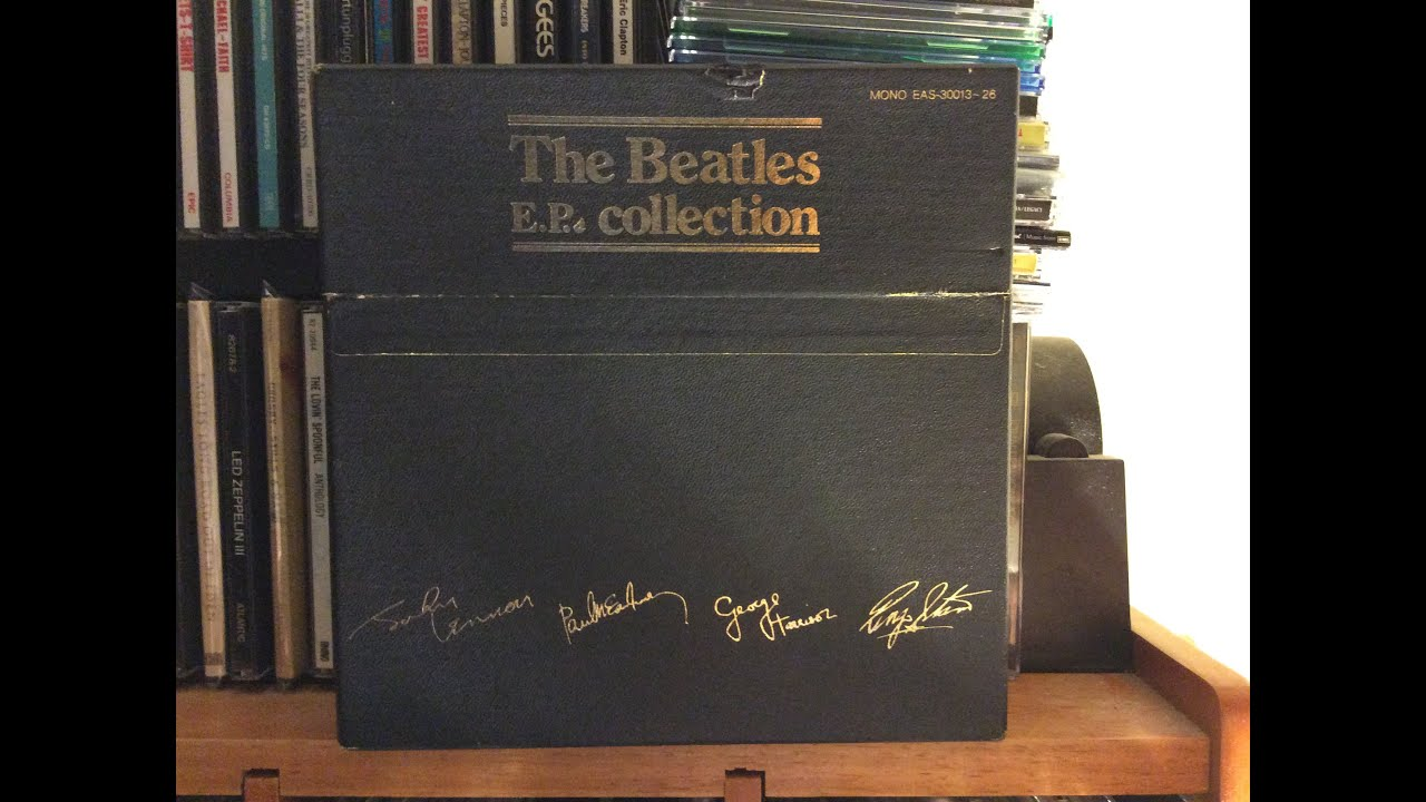 The Beatles Ep Collection Japanese Vinyl Box Set Youtube