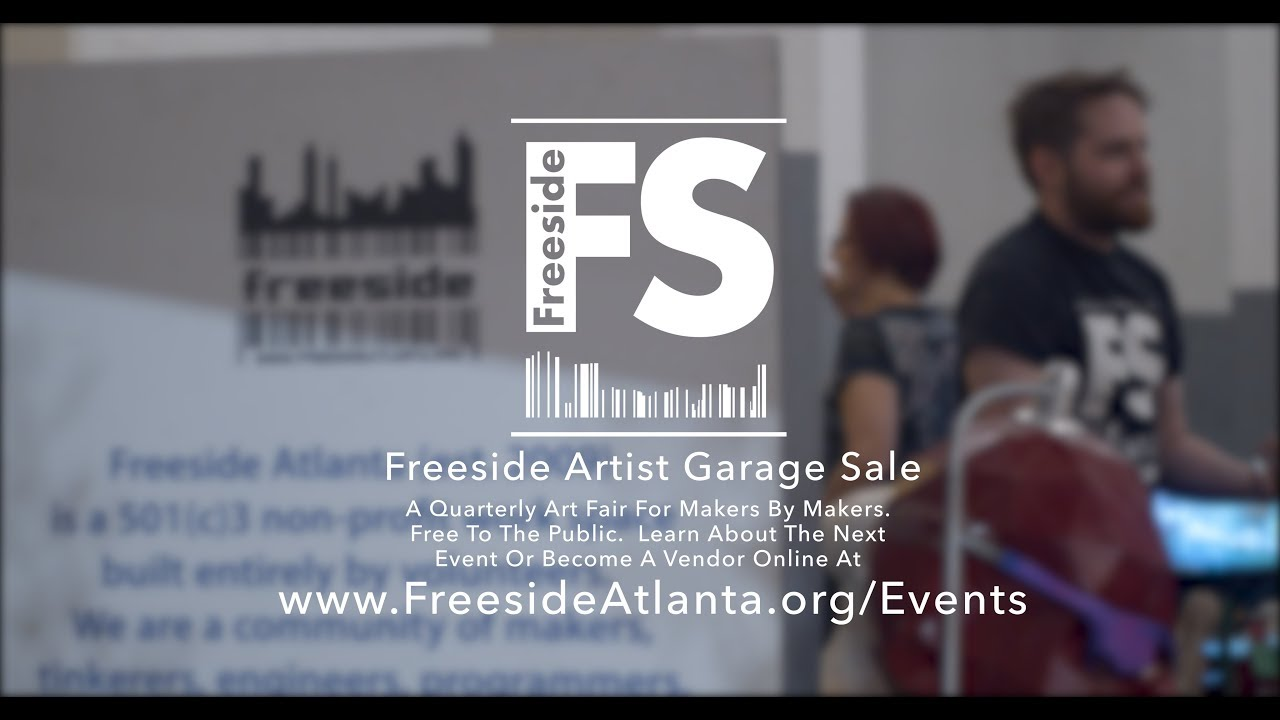 Freeside: Artist Garage Sale