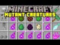 Minecraft MUTANT CREATURES MOD! | MUTANT CREEPERS, ZOMBIES, ENDERMAN, & MORE! | Modded Mini-Game