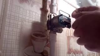 Замена батарейки в счетчике газа СГБМ-1.6  БЕТАР