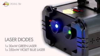 Video American DJ Royal 3D Laser download MP3, 3GP, MP4, WEBM, AVI, FLV Agustus 2018