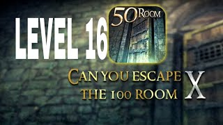 Can You Escape The 100 room X level 16 Walkthrough