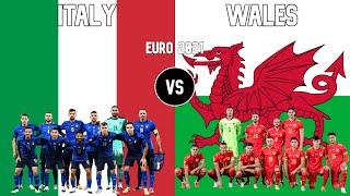 Italy vs Wales Football National Teams Euro 2021