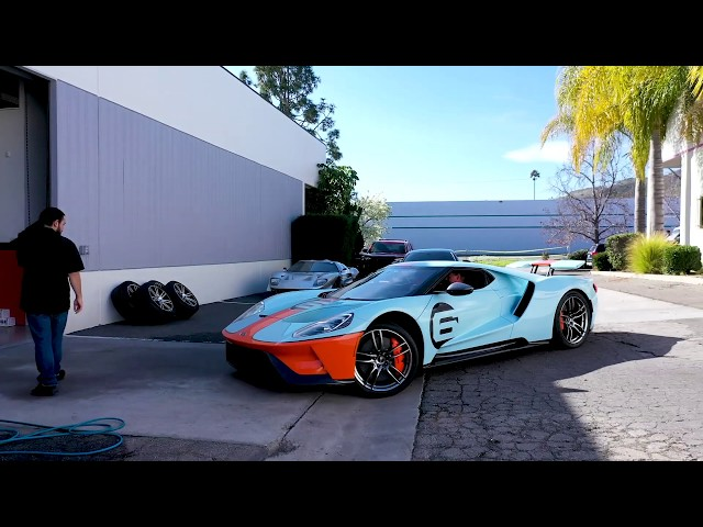 Ford GT (2019) Clear Bra Time-Lapse By Ghost Shield Film in Thousand Oaks