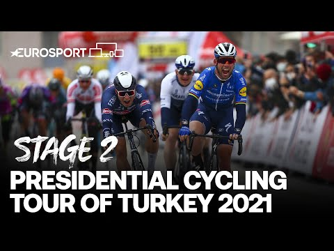 Presidential Cycling Tour of Turkey 2021 - Stage 2 Highlights | Cycling | Eurosport
