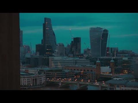London And St Paul's Cathedral  Stock Video