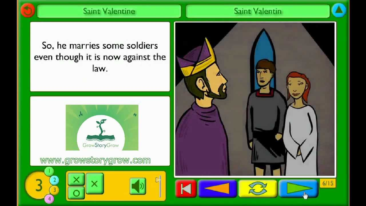 A Children S Story About St Valentine Youtube