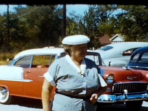 Diane and Am Royal parade 1956