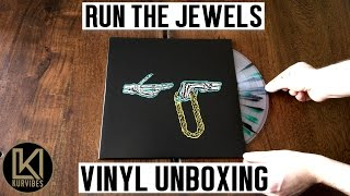 Run The Jewels - Run The Jewels Vinyl Unboxing | KurVibes