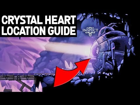 Hollow Knight- How To Find Crystal Heart Ability Definitive Guide