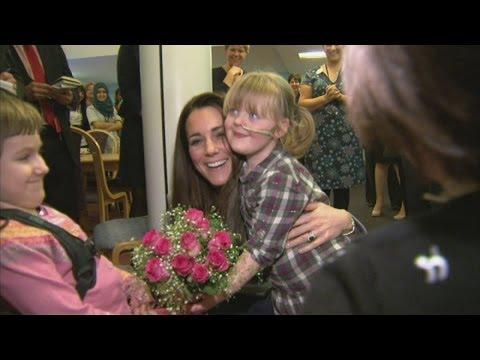 Duchess of Cambridge visits Shooting Star Children's Hospice
