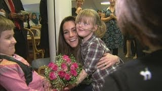 Duchess of Cambridge visits Shooting Star Children