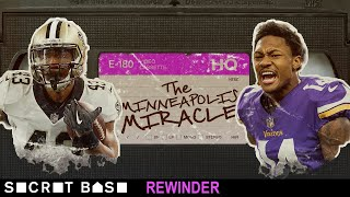 The Minneapolis Miracle deserves a deep rewind | Vikings-Saints 2017 Playoffs