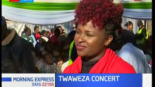 Mercy Masika at the Twaweza Concert