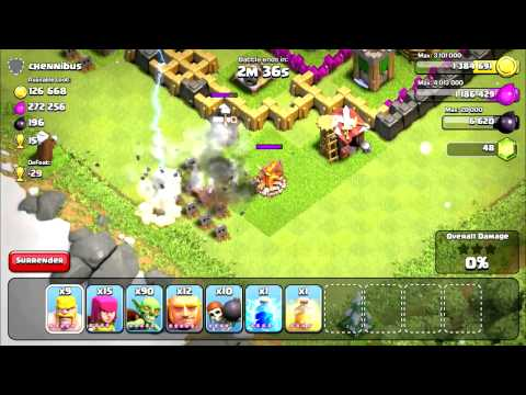 Clash Of Clans: Upgrading Mortar to level 6!