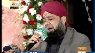 New Kalam Of Owais Raza Qadri  Huzoor Jante Hain  at Eidgah Sharif 10/11/2012