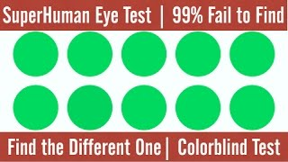 SuperHuman Eye Test | 99% FAILED
