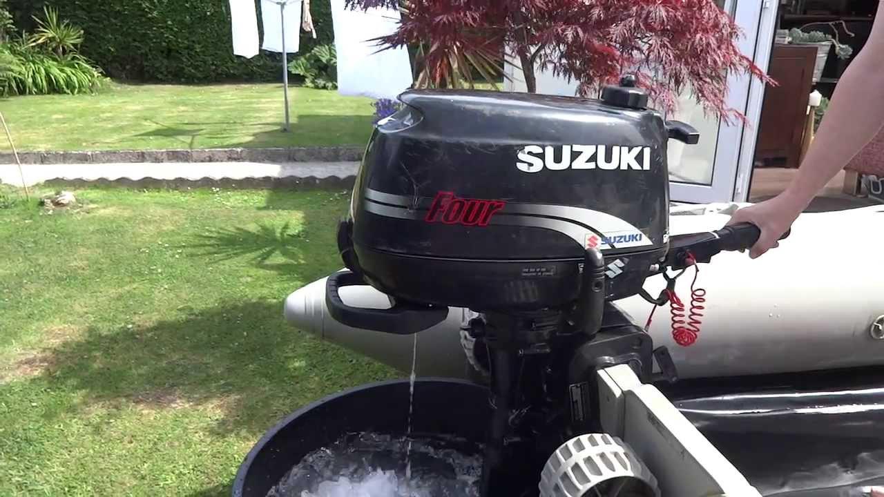 SUZUKI DF4 4HP 4 STROKE OUTBOARD ENGINE For Sale Ebay - YouTube