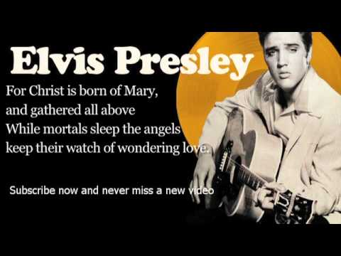 Elvis Presley - O Little Town of Bethlehem - Lyrics