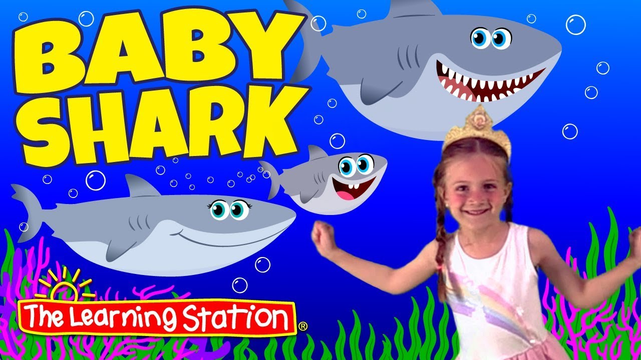 521b65e54 Baby Shark Original Dance Song ♫ Starring Paige ♫ Kids Songs by ...